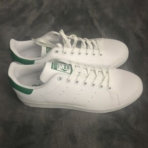 COPY- Stan Smith Adidas- New Mens White and Green